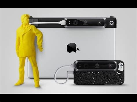 3D Systems Now Offers iSense 3D Scanner for iPhone 6 - YouTube