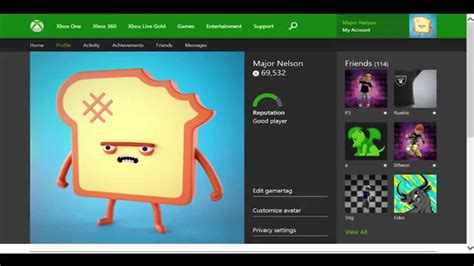 Xbox One Profile Coming to Xbox