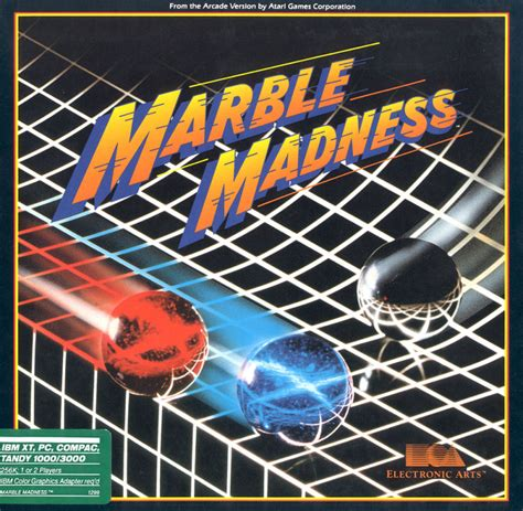 Marble Madness for PC Booter (1987) - MobyGames