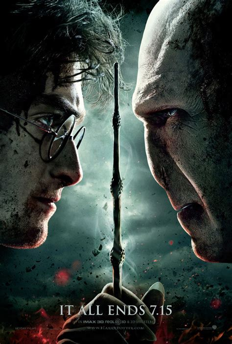 'Harry Potter And The Deathly Hallows Part 2' Poster