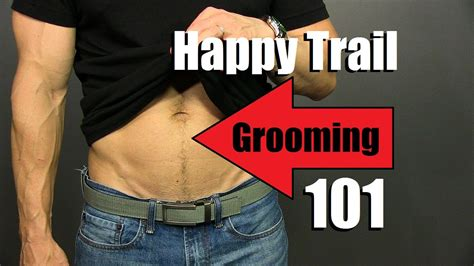 Happy Trail Grooming Tutorial | *ADVANCED* Manscaping