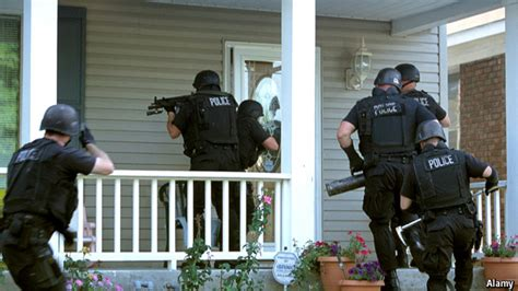 Militarized Police: SWAT Teams Used 50,000 Times Annually