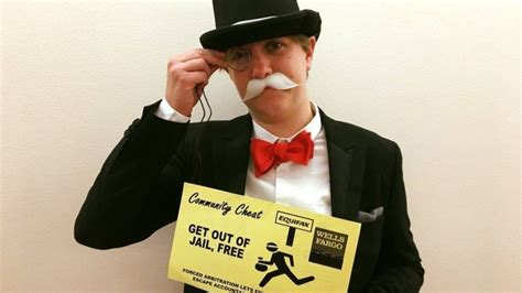 Meet the 'Monopoly Man' who photo-bombed former Equifax