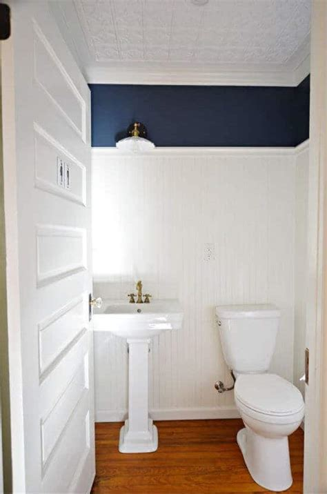 How to Install Beadboard Paneling in a Half Bathroom