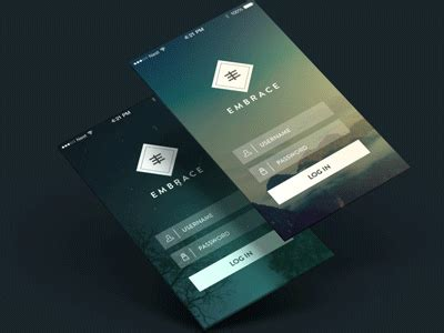 20+ Mobile App Concepts With GIF-Animated Previews