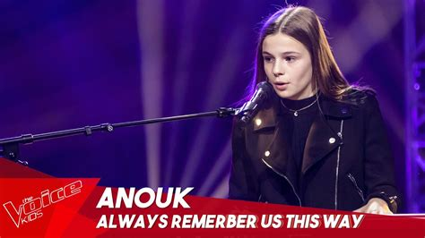 Anouk - 'Always remember us this way' | Blind Auditions