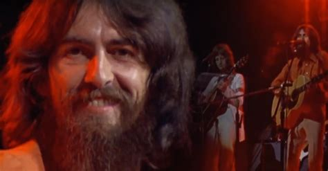"""George Harrison Performs Rare Acoustic Rendition of """"Here"""