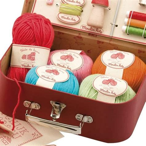 Moulin Roty Kids Sewing and Knitting Kit - Oompa Toys