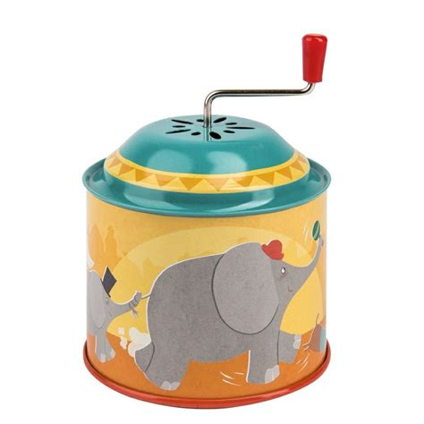 Les Petites Merveilles Metal Circus Musical Box by Moulin Roty