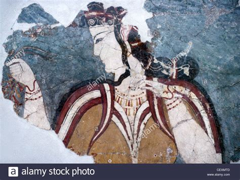 Ancient Painting Greece Stockfotos & Ancient Painting