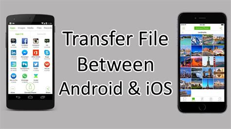 How to transfer files between iPhone and Android Phone