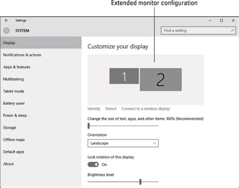 How to Add a Monitor to Your Windows 10 Laptop - dummies