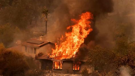 'Historic in nature:' Some California fires scorching