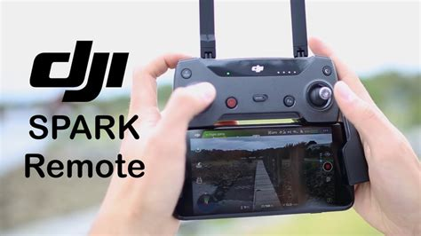 Review: Remote for DJI Spark — is it worth it? - YouTube
