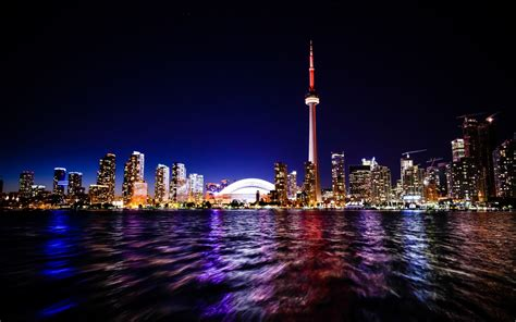 Toronto Nightscape Wallpapers   HD Wallpapers   ID #16379