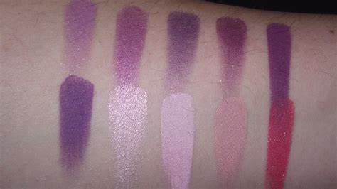 Fieryization: Inglot Eyeshadow Collection & Swatches!