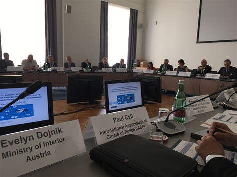 2017 OSCE Annual Meeting of Heads of Law Enforcement